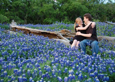 bluebonnets at Texas marriage retreat
